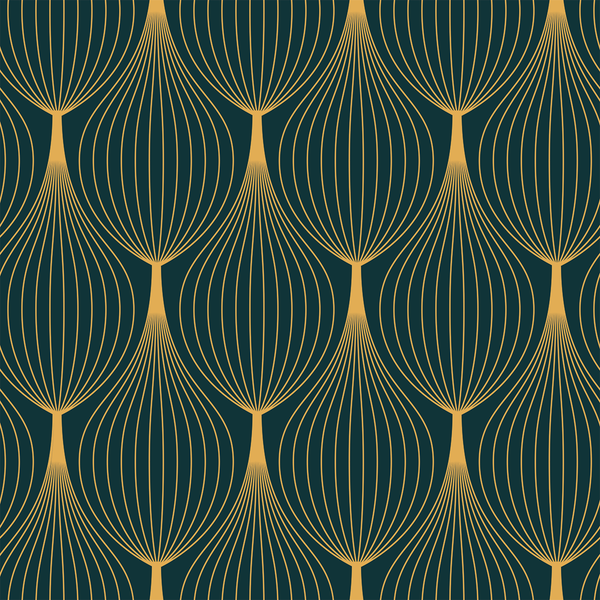 Onion Skin - Guilded - The Detroit Wallpaper Co.