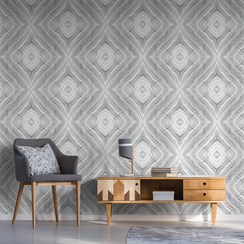 Onyx - Bounce - Trendy Custom Wallpaper | Contemporary Wallpaper Designs | The Detroit Wallpaper Co.