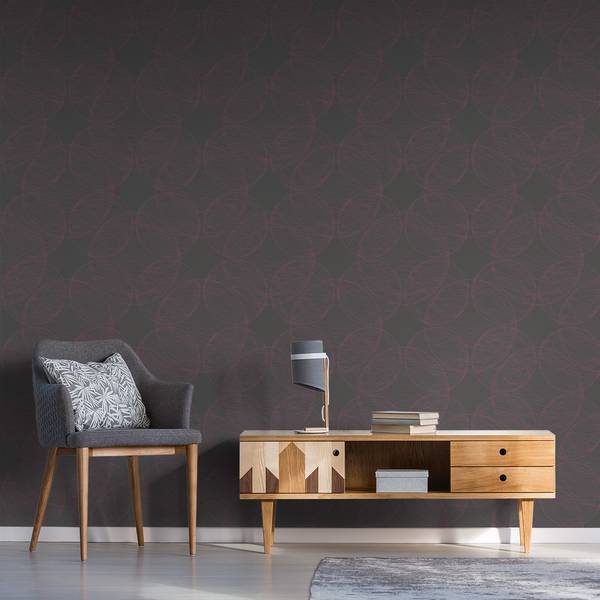 Orbital - Nebula - Trendy Custom Wallpaper | Contemporary Wallpaper Designs | The Detroit Wallpaper Co.