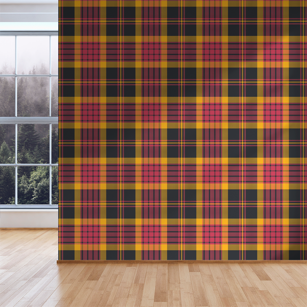 Plaid - Band Practice - Trendy Custom Wallpaper | Contemporary Wallpaper Designs | The Detroit Wallpaper Co.