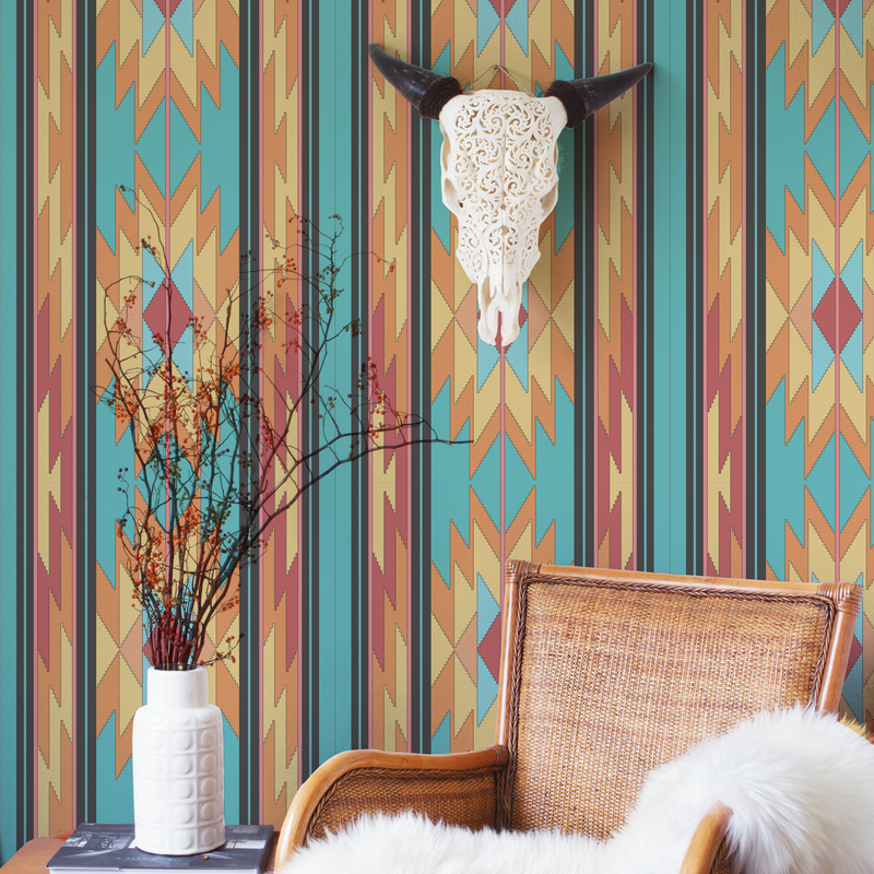 Prairie Look - Rio - Trendy Custom Wallpaper | Contemporary Wallpaper Designs | The Detroit Wallpaper Co.