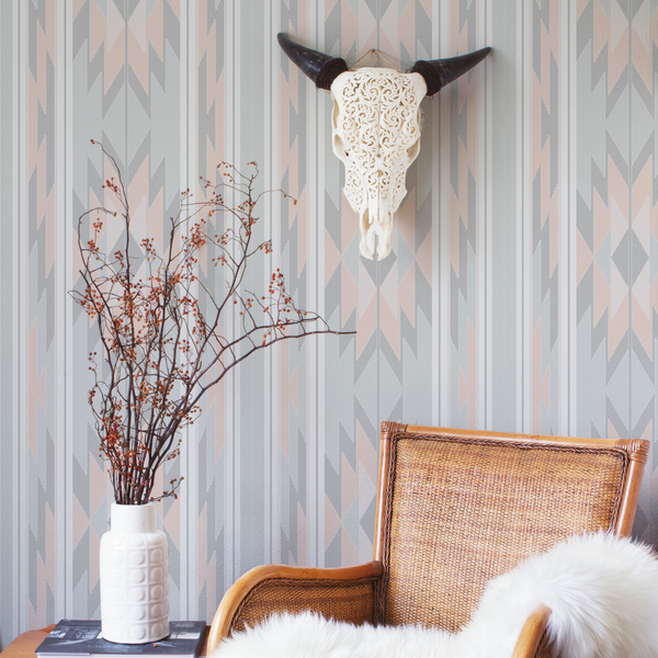 Prairie Look - Santa Fe - Trendy Custom Wallpaper | Contemporary Wallpaper Designs | The Detroit Wallpaper Co.