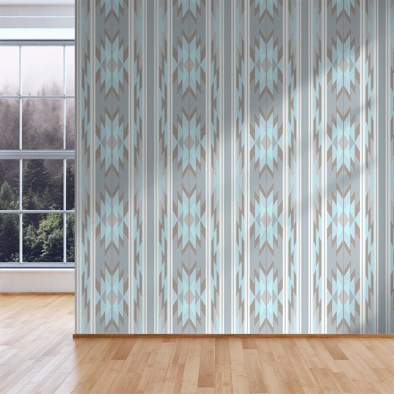 Prairie Look - Apache - Trendy Custom Wallpaper | Contemporary Wallpaper Designs | The Detroit Wallpaper Co.