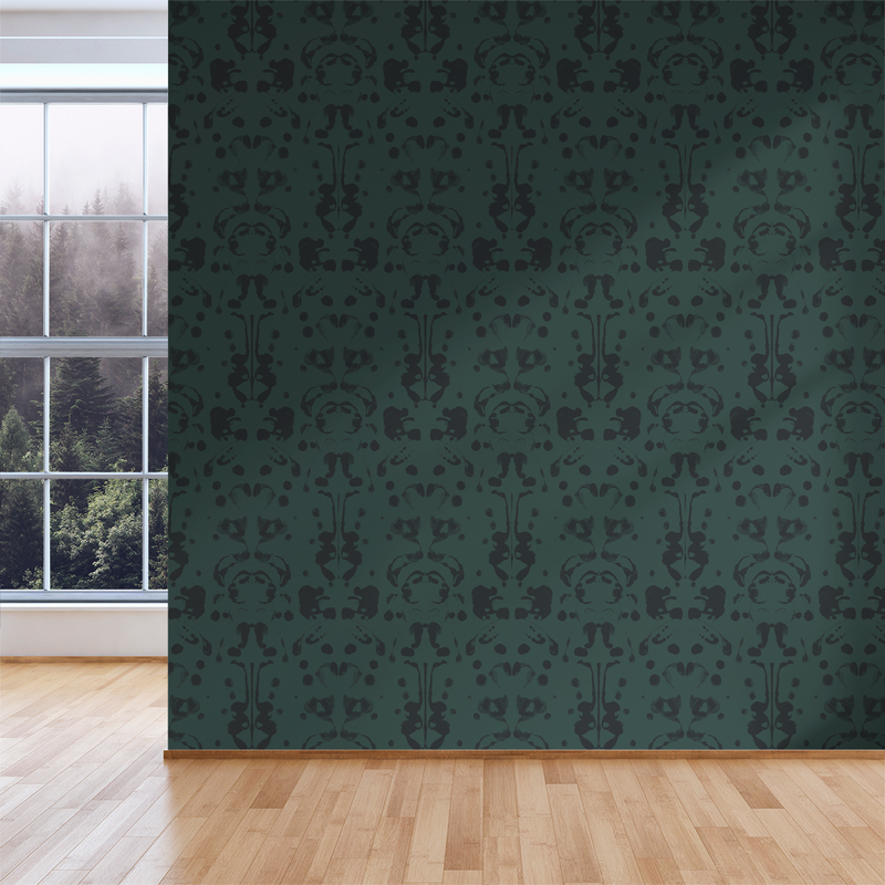 Psych - Ego - Trendy Custom Wallpaper | Contemporary Wallpaper Designs | The Detroit Wallpaper Co.