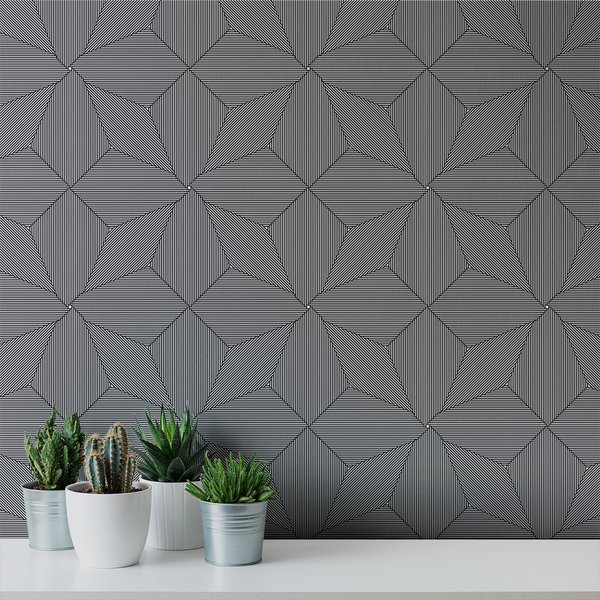 Pueblo - Acoma - Trendy Custom Wallpaper | Contemporary Wallpaper Designs | The Detroit Wallpaper Co.