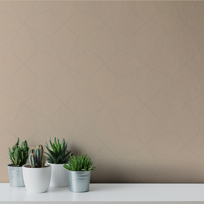 Pueblo - Taos - Trendy Custom Wallpaper | Contemporary Wallpaper Designs | The Detroit Wallpaper Co.