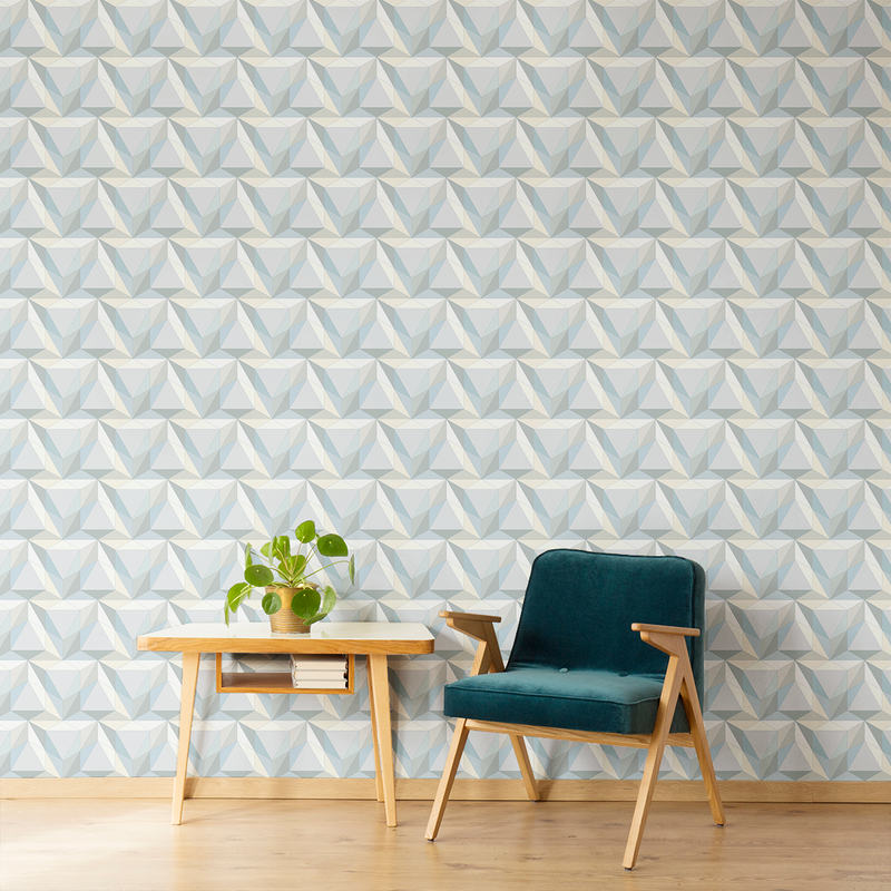 Pyramid - Pharaoh - Trendy Custom Wallpaper | Contemporary Wallpaper Designs | The Detroit Wallpaper Co.