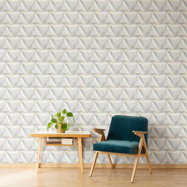 Pyramid - Sphinx - Trendy Custom Wallpaper | Contemporary Wallpaper Designs | The Detroit Wallpaper Co.