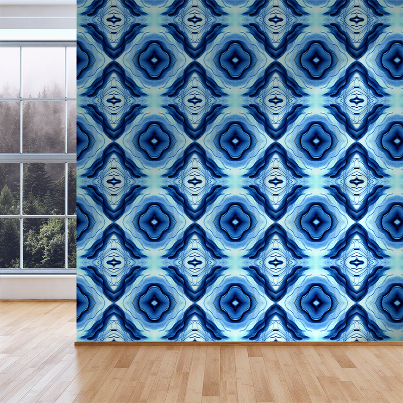 Reno - Ghost - Trendy Custom Wallpaper | Contemporary Wallpaper Designs | The Detroit Wallpaper Co.