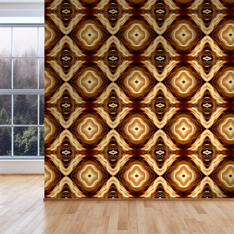 Reno - Lantern - Trendy Custom Wallpaper | Contemporary Wallpaper Designs | The Detroit Wallpaper Co.