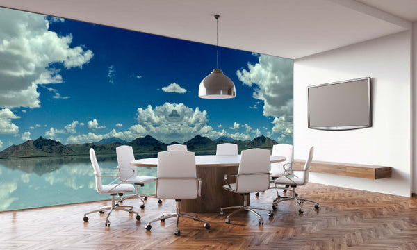 Salt Lake <br> Brenda Rosenberg - Trendy Custom Wallpaper | Contemporary Wallpaper Designs | The Detroit Wallpaper Co.
