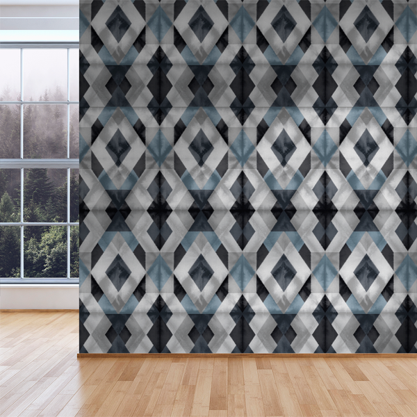 Shibori - Tundra - Trendy Custom Wallpaper | Contemporary Wallpaper Designs | The Detroit Wallpaper Co.