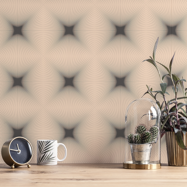 Shine - Glow - Trendy Custom Wallpaper | Contemporary Wallpaper Designs | The Detroit Wallpaper Co.