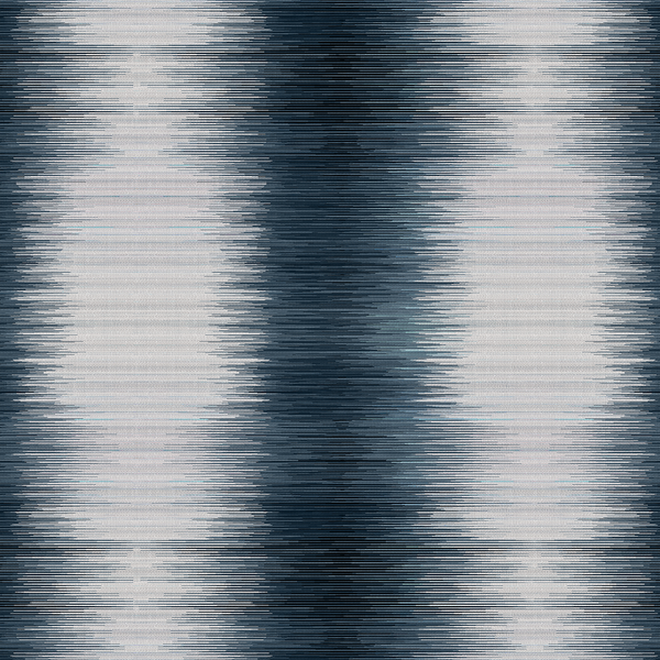 Spectrogram - Blues - Trendy Custom Wallpaper | Contemporary Wallpaper Designs | The Detroit Wallpaper Co.