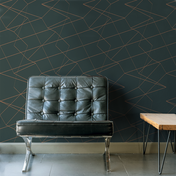 Spatial - Energy - Trendy Custom Wallpaper | Contemporary Wallpaper Designs | The Detroit Wallpaper Co.