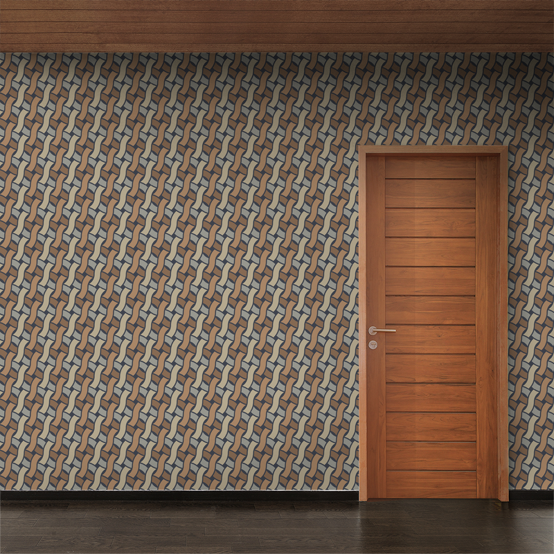 Spot - Earthy - Trendy Custom Wallpaper | Contemporary Wallpaper Designs | The Detroit Wallpaper Co.
