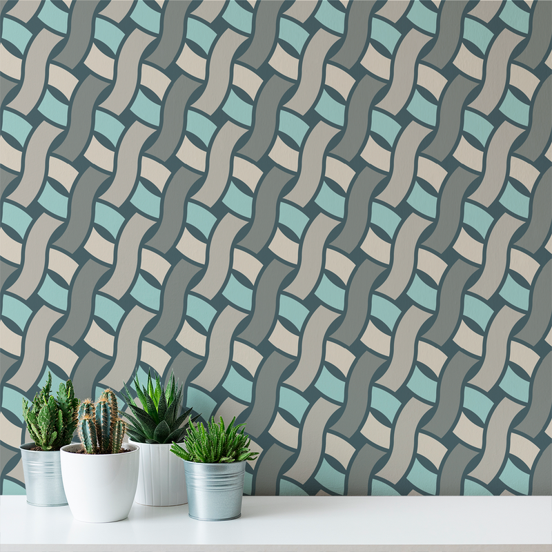Spot - Stormy - Trendy Custom Wallpaper | Contemporary Wallpaper Designs | The Detroit Wallpaper Co.