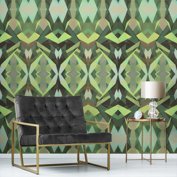 Stellate - Mantis - Trendy Custom Wallpaper | Contemporary Wallpaper Designs | The Detroit Wallpaper Co.