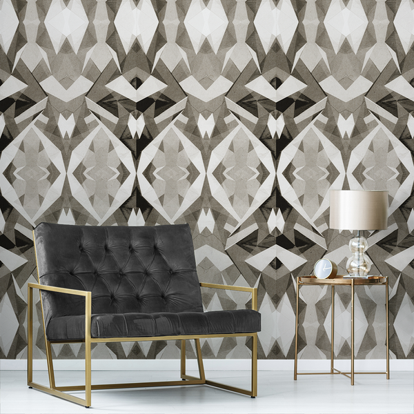 Stellate - Sandbar - Trendy Custom Wallpaper | Contemporary Wallpaper Designs | The Detroit Wallpaper Co.