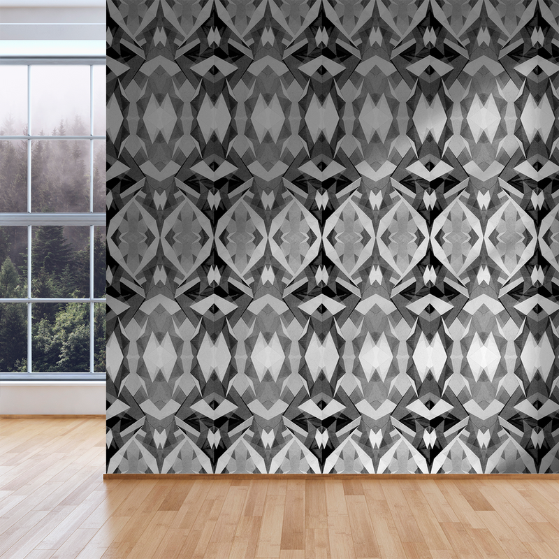 Stellate - Spider - Trendy Custom Wallpaper | Contemporary Wallpaper Designs | The Detroit Wallpaper Co.