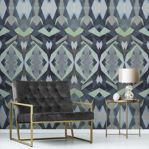 Stellate - Tropics - Trendy Custom Wallpaper | Contemporary Wallpaper Designs | The Detroit Wallpaper Co.