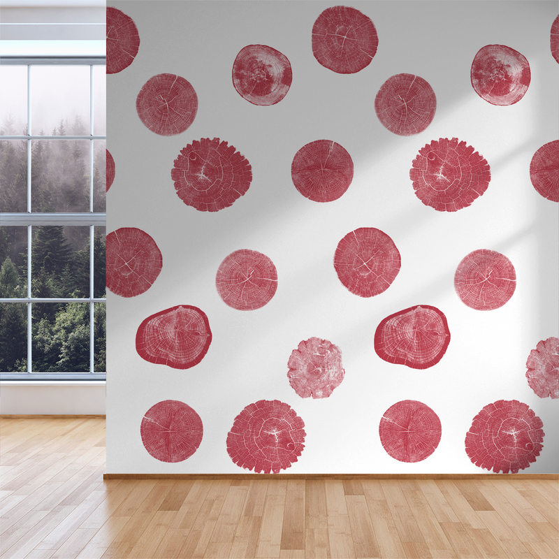 Stumped - Seattle - Trendy Custom Wallpaper | Contemporary Wallpaper Designs | The Detroit Wallpaper Co.