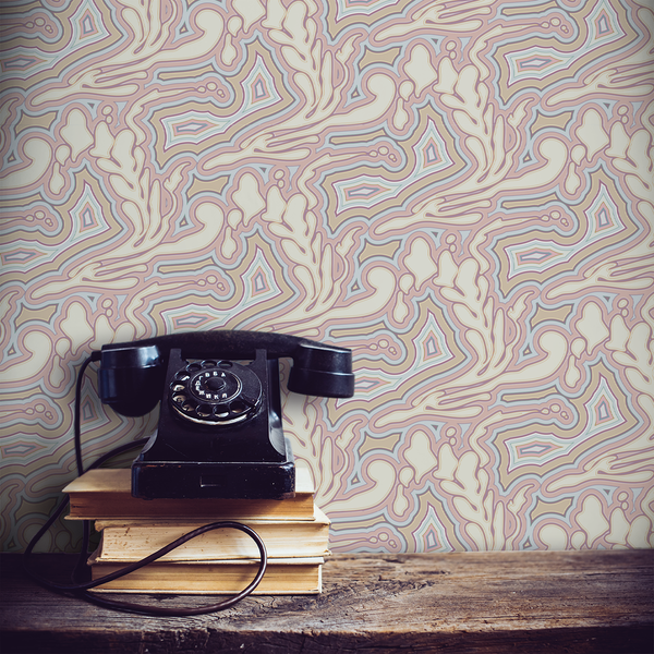 Submariner - Opal - Trendy Custom Wallpaper | Contemporary Wallpaper Designs | The Detroit Wallpaper Co.