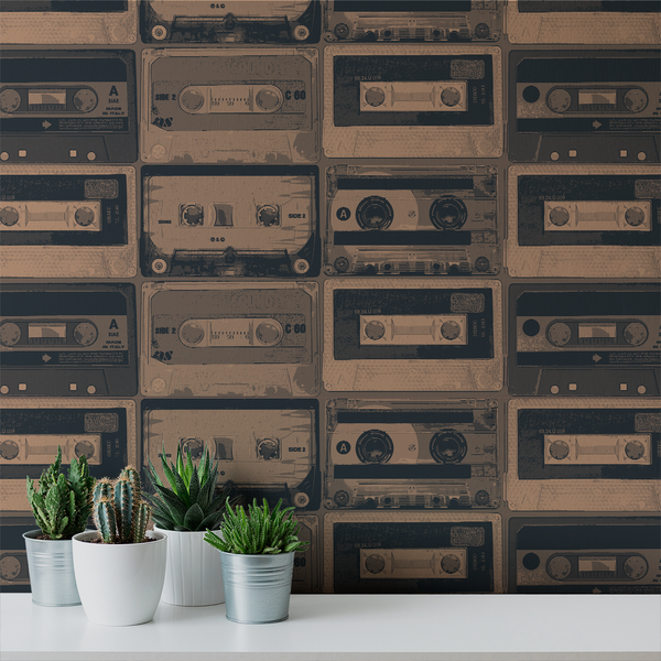 Tapestack - Bootleg - Trendy Custom Wallpaper | Contemporary Wallpaper Designs | The Detroit Wallpaper Co.
