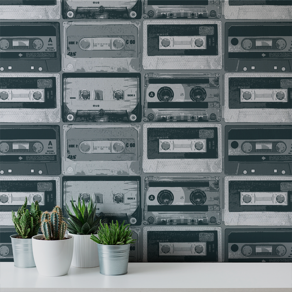 Tapestack - LoFi - Trendy Custom Wallpaper | Contemporary Wallpaper Designs | The Detroit Wallpaper Co.