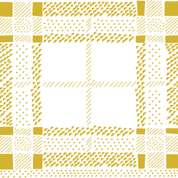 Tartan - Bright Gold <br> Elizabeth Salonen - Trendy Custom Wallpaper | Contemporary Wallpaper Designs | The Detroit Wallpaper Co.