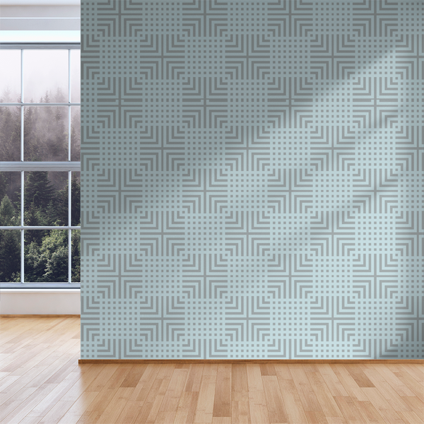 The Grid - Connect - Trendy Custom Wallpaper | Contemporary Wallpaper Designs | The Detroit Wallpaper Co.