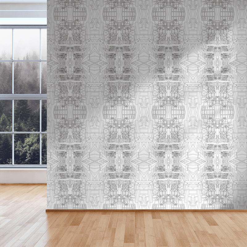 The Line - Trendy Custom Wallpaper | Contemporary Wallpaper Designs | The Detroit Wallpaper Co.