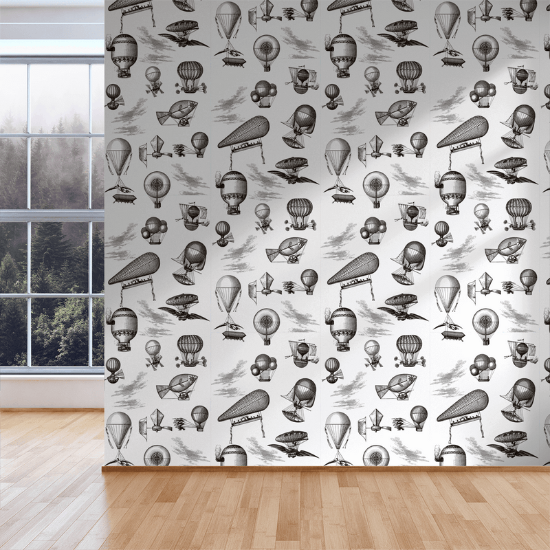 The Wrong Brothers - Blanche - Trendy Custom Wallpaper | Contemporary Wallpaper Designs | The Detroit Wallpaper Co.