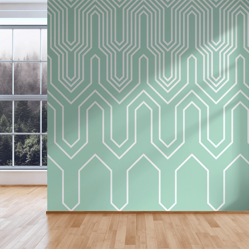 Thumbs Up - Trendy Custom Wallpaper | Contemporary Wallpaper Designs | The Detroit Wallpaper Co.