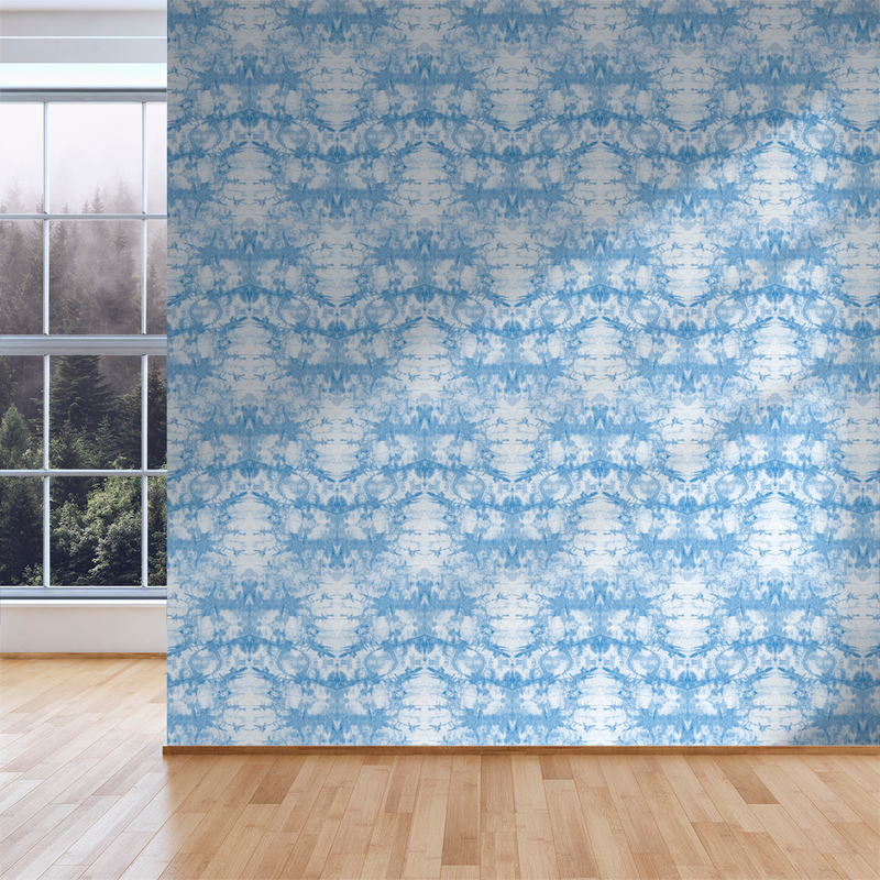 Tie-Dye - Cool - Trendy Custom Wallpaper | Contemporary Wallpaper Designs | The Detroit Wallpaper Co.