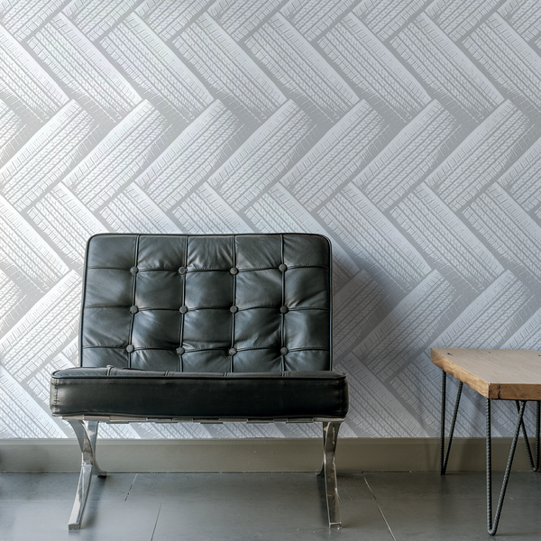 Tirenation - Snowbelt - Trendy Custom Wallpaper | Contemporary Wallpaper Designs | The Detroit Wallpaper Co.