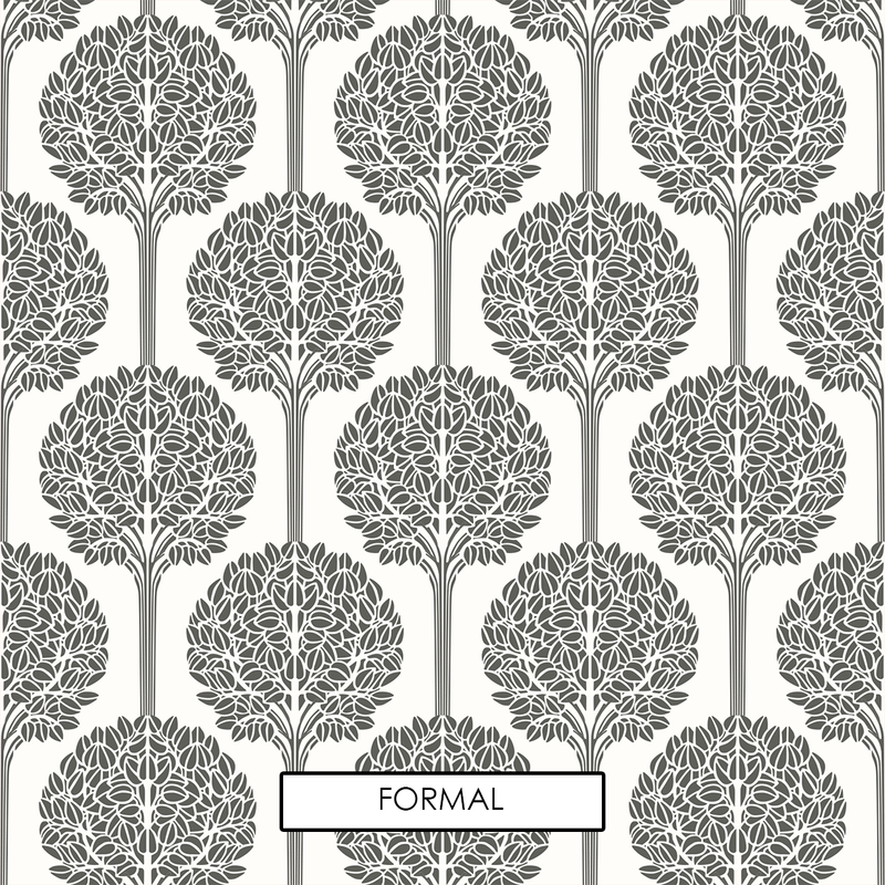 Topiary - Peel and Stick Wallpaper - Trendy Custom Wallpaper | Contemporary Wallpaper Designs | The Detroit Wallpaper Co.
