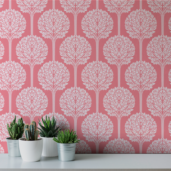 Topiary - Precious - Trendy Custom Wallpaper | Contemporary Wallpaper Designs | The Detroit Wallpaper Co.