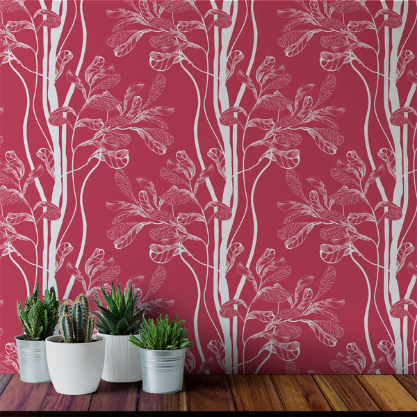 Tree - Fruit - Trendy Custom Wallpaper | Contemporary Wallpaper Designs | The Detroit Wallpaper Co.