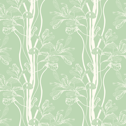 Tree - Vanilla - Trendy Custom Wallpaper | Contemporary Wallpaper Designs | The Detroit Wallpaper Co.