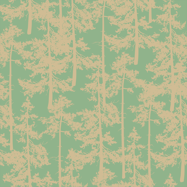 Treetop - Sap - Trendy Custom Wallpaper | Contemporary Wallpaper Designs | The Detroit Wallpaper Co.