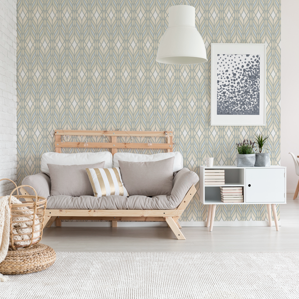 Trellis - Fiber - Trendy Custom Wallpaper | Contemporary Wallpaper Designs | The Detroit Wallpaper Co.