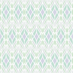 Trellis - Frozen - Trendy Custom Wallpaper | Contemporary Wallpaper Designs | The Detroit Wallpaper Co.