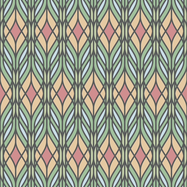 Trellis - Tiffany - Trendy Custom Wallpaper | Contemporary Wallpaper Designs | The Detroit Wallpaper Co.
