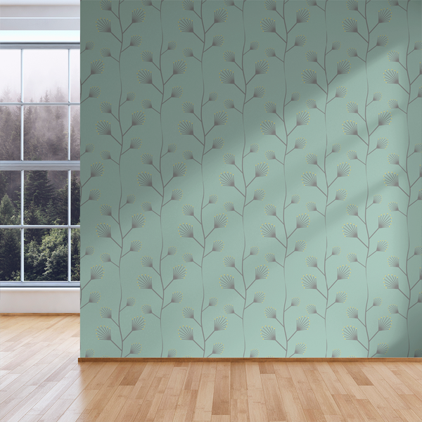 Twinkle - Bud - Trendy Custom Wallpaper | Contemporary Wallpaper Designs | The Detroit Wallpaper Co.