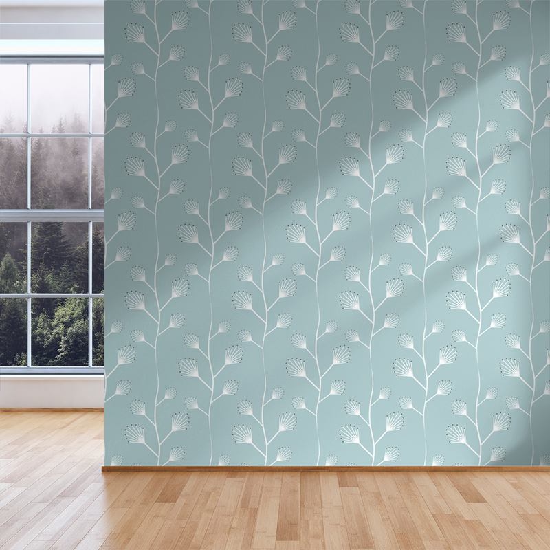 Twinkle - Pebble - Trendy Custom Wallpaper | Contemporary Wallpaper Designs | The Detroit Wallpaper Co.