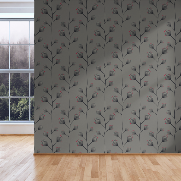 Twinkle - Ruby - Trendy Custom Wallpaper | Contemporary Wallpaper Designs | The Detroit Wallpaper Co.
