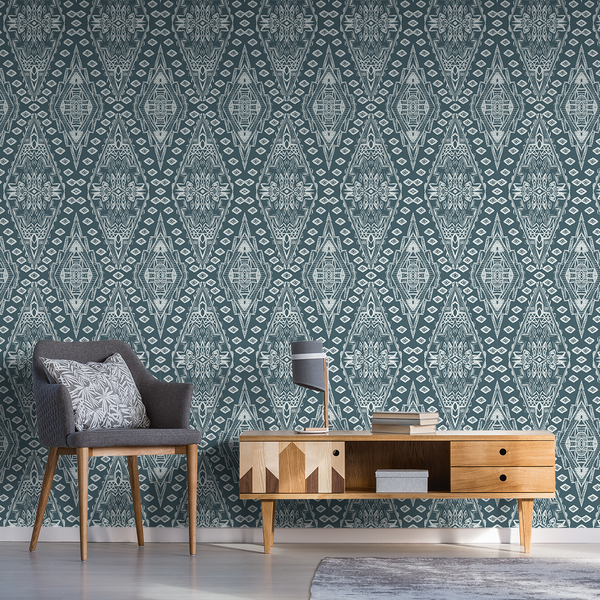 Uma - Quench - Trendy Custom Wallpaper | Contemporary Wallpaper Designs | The Detroit Wallpaper Co.