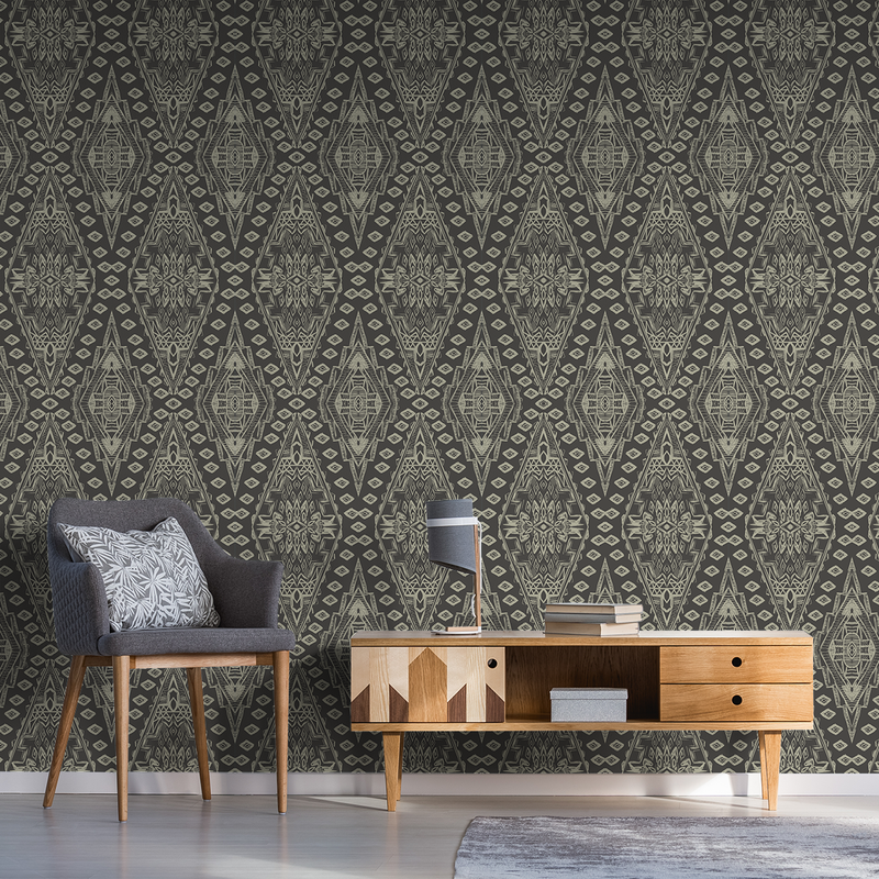 Uma - Thicket - Trendy Custom Wallpaper | Contemporary Wallpaper Designs | The Detroit Wallpaper Co.