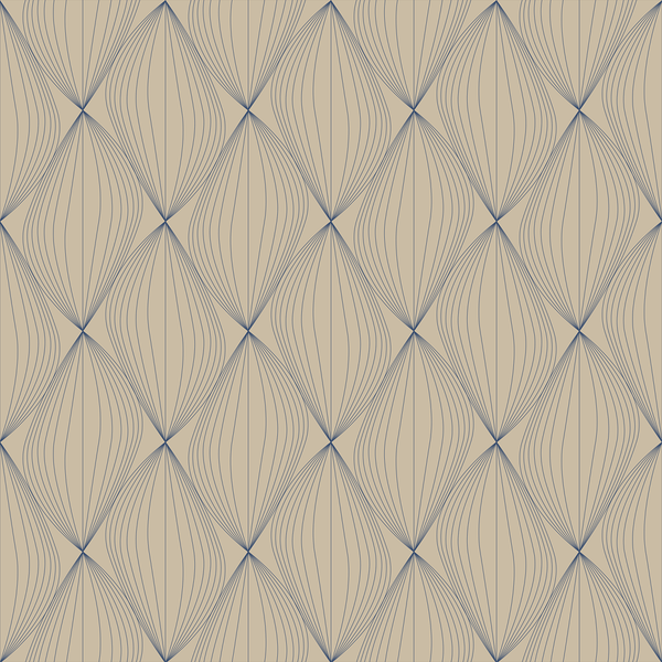 Undulate - Cotillion - Trendy Custom Wallpaper | Contemporary Wallpaper Designs | The Detroit Wallpaper Co.